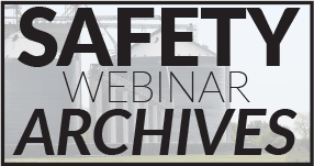 Safety Webinar Archives Link